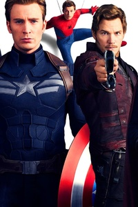 Avengers Infinity War Superheroes