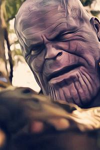 Avengers Infinity War Thanos Gauntlet