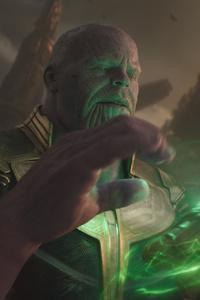 1080x2280 Avengers Infinity War Thanos