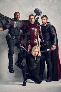 Avengers Infinity War Vanity Fair Cover 2018 5k