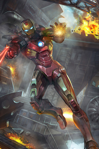 1080x2160 Avengers Ironman