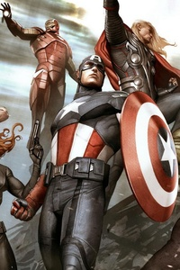 Avengers Marvel Comics Artwork