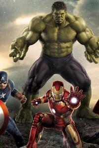 640x1136 Avengers Movie