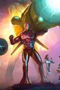 1080x2160 Avengers Ready