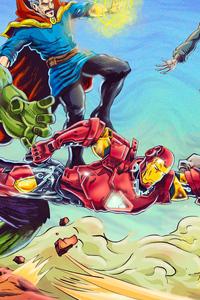 Avengers Vs Black Order