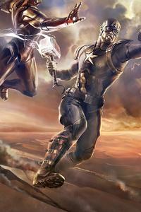 Avengers Vs Thanos 4k