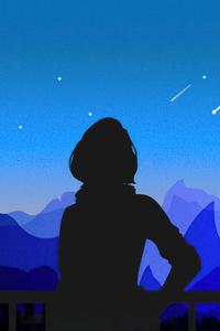 1440x2960 Awakening Stars 5k