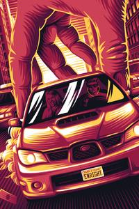 Baby Driver New Art