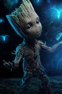 Baby Groot 4k