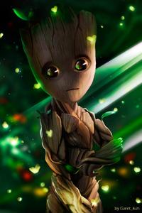Baby Groot Art HD