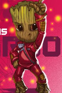 Baby Groot Dance Floor