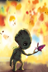 Baby Groot Fan Art