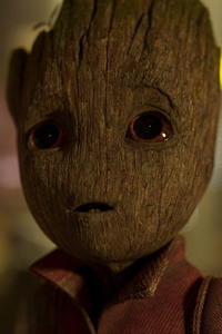 Baby Groot Guardians of the Galaxy Vol 2 HD