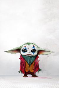 320x480 Baby Joker X Yoda