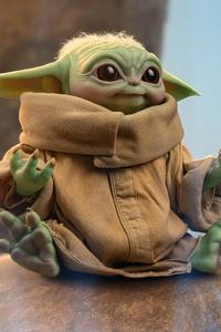 1080x2280 Baby Yoda 3d Art 4k