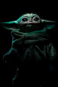 720x1280 Baby Yoda 4k