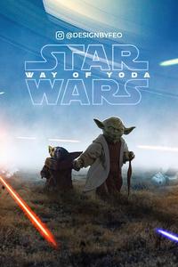 480x854 Baby Yoda And Yoda