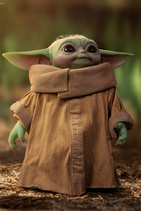 Baby Yoda Cute 4k