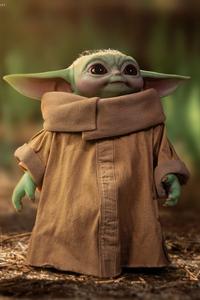 1080x2280 Baby Yoda Cute 4k