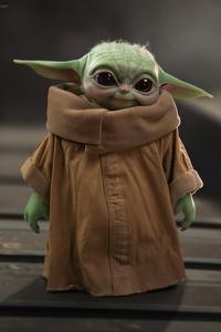 1080x2280 Baby Yoda Cute 5k