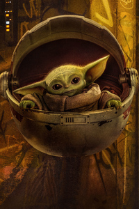 800x1280 Baby Yoda The Mandalorian Season 2 4k