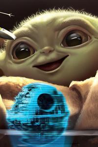 Baby Yoda4k