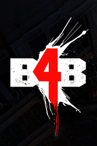 640x1136 Back 4 Blood Logo 4k