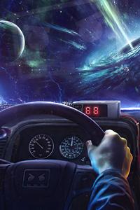 Back To The Future Delorean Interior Time Machine 5k