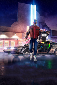 1440x2960 Back To The Future Movie