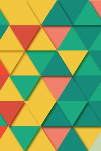 320x480 Background Geometric Triangle Pattern