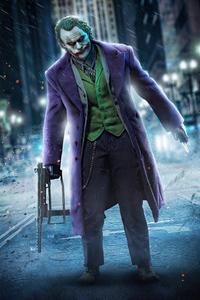 1080x2160 Badass Joker 4k