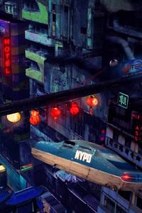 Balde Runner Cyberpunk Scifi Future 4k