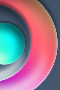 720x1280 Ball Abstract 3d 8k