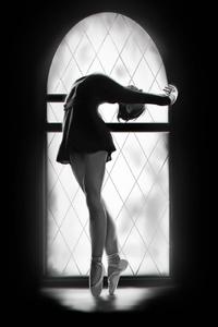 1440x2960 Ballerina Dancer Art