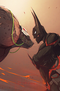 Bane V Batman 4k