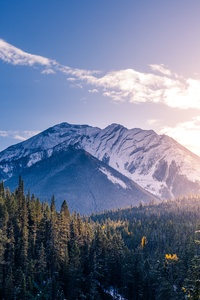 1242x2688 Banff Canada Landscape 5k