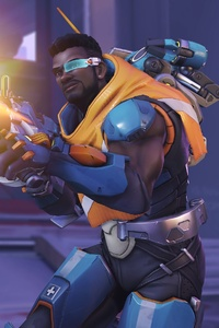 1080x2280 Baptiste Overwatch Video Game