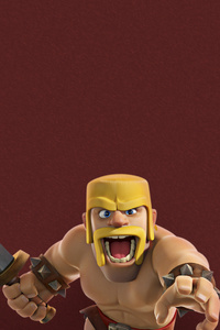 480x800 Barbarian Clash Of Clans Supercell