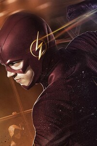 320x480 Barry Allen In Flash 2