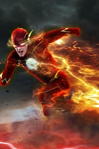 320x480 Barry Allen In Flash