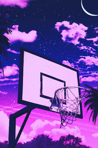 750x1334 Basketball Court 4k