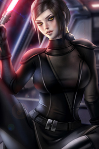 Bastila Shan Fallen Star Wars Galaxy Of Heroes