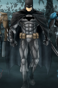 Bat Family 4k