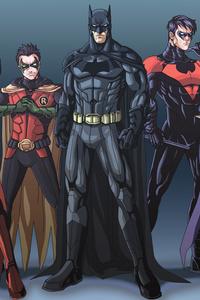Bat Family 5k