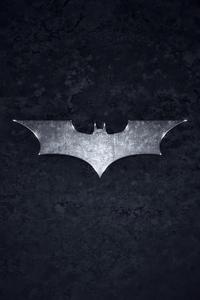 1080x1920 Bat Logo Dark 4k