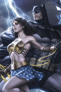 Bat Man And Wonder Woman