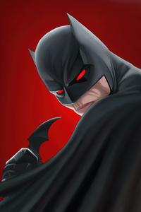 2160x3840 Bat Man Different Eye For Everyone