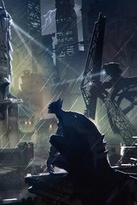 Bat Man Gotham City