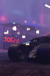 540x960 Bat Mobile 4k