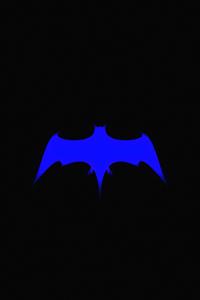 1125x2436 Bat Symbol 8k